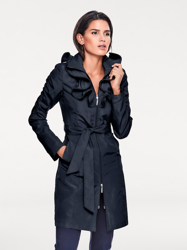 Ashley Brooke by heine Trenchcoat mit Rüschen