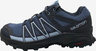 SALOMON Wanderschuh 'Leonis W' in marine / hellblau / schwarz, Produktansicht