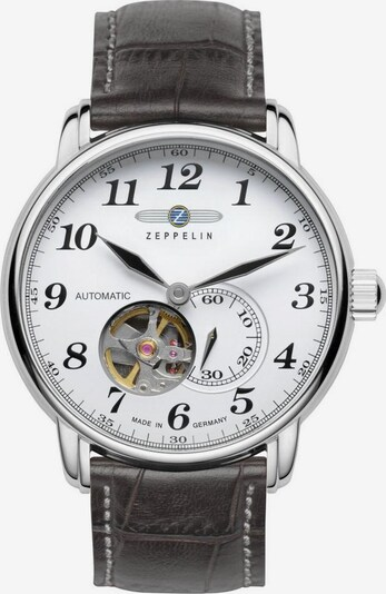 Zeppelin Uhr 'Hindenburg,' in grau / silber, Produktansicht