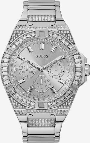GUESS Analog Watch 'ZEUS, GW0209G1' in Silver