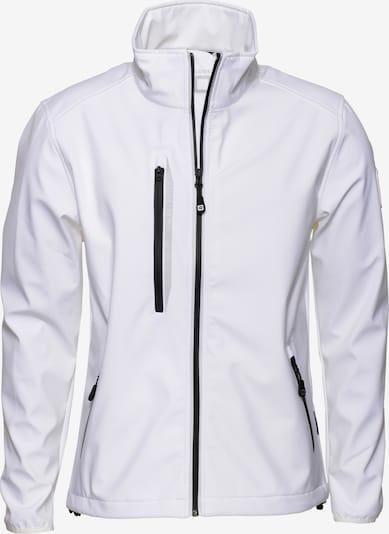 CODE-ZERO Softshell-Jacke 'HALYARD' in weiß, Produktansicht