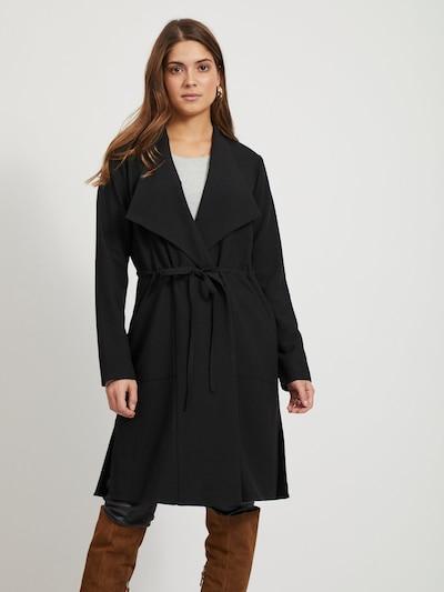 OBJECT Mantel in schwarz, Modelansicht