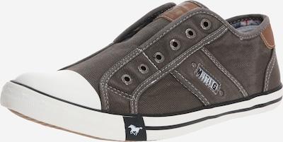 MUSTANG Sneaker in grau / weiß, Produktansicht
