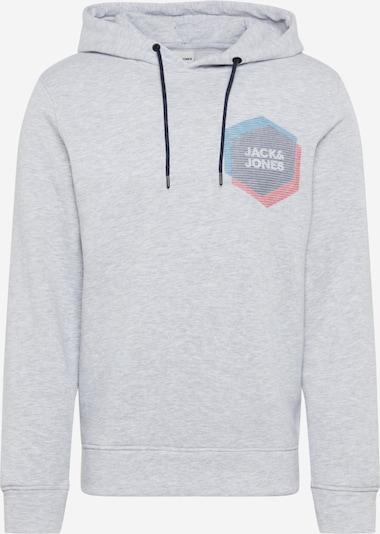 JACK & JONES Sweat-shirt 'Cool' en bleu / gris clair: Vue de face