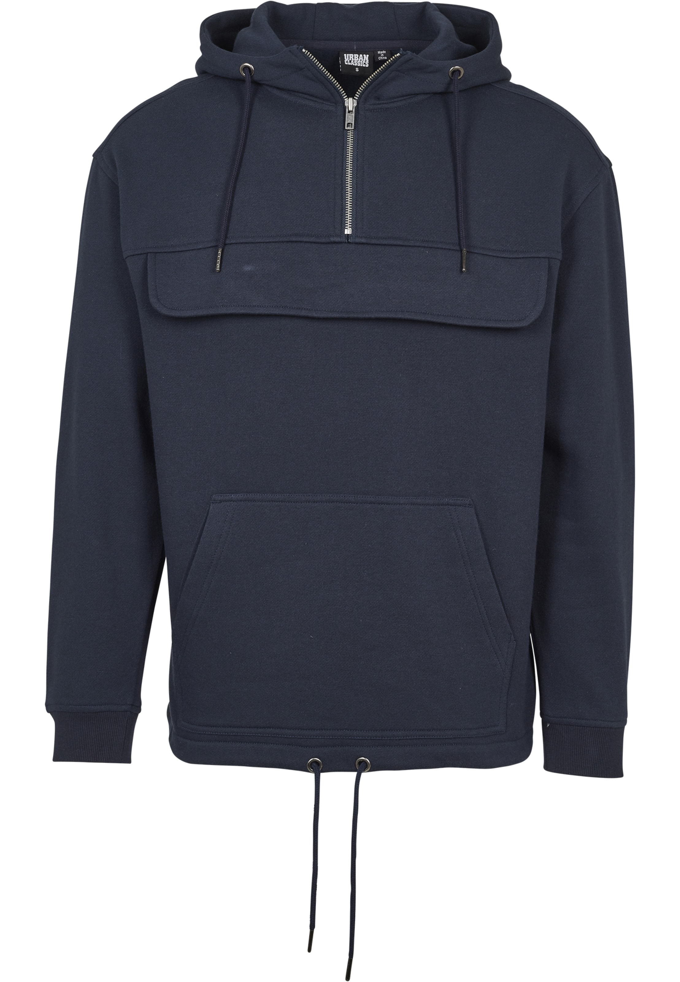 Navy Sweatshirt Classics Urban In Urban Classics N8nO0vmw