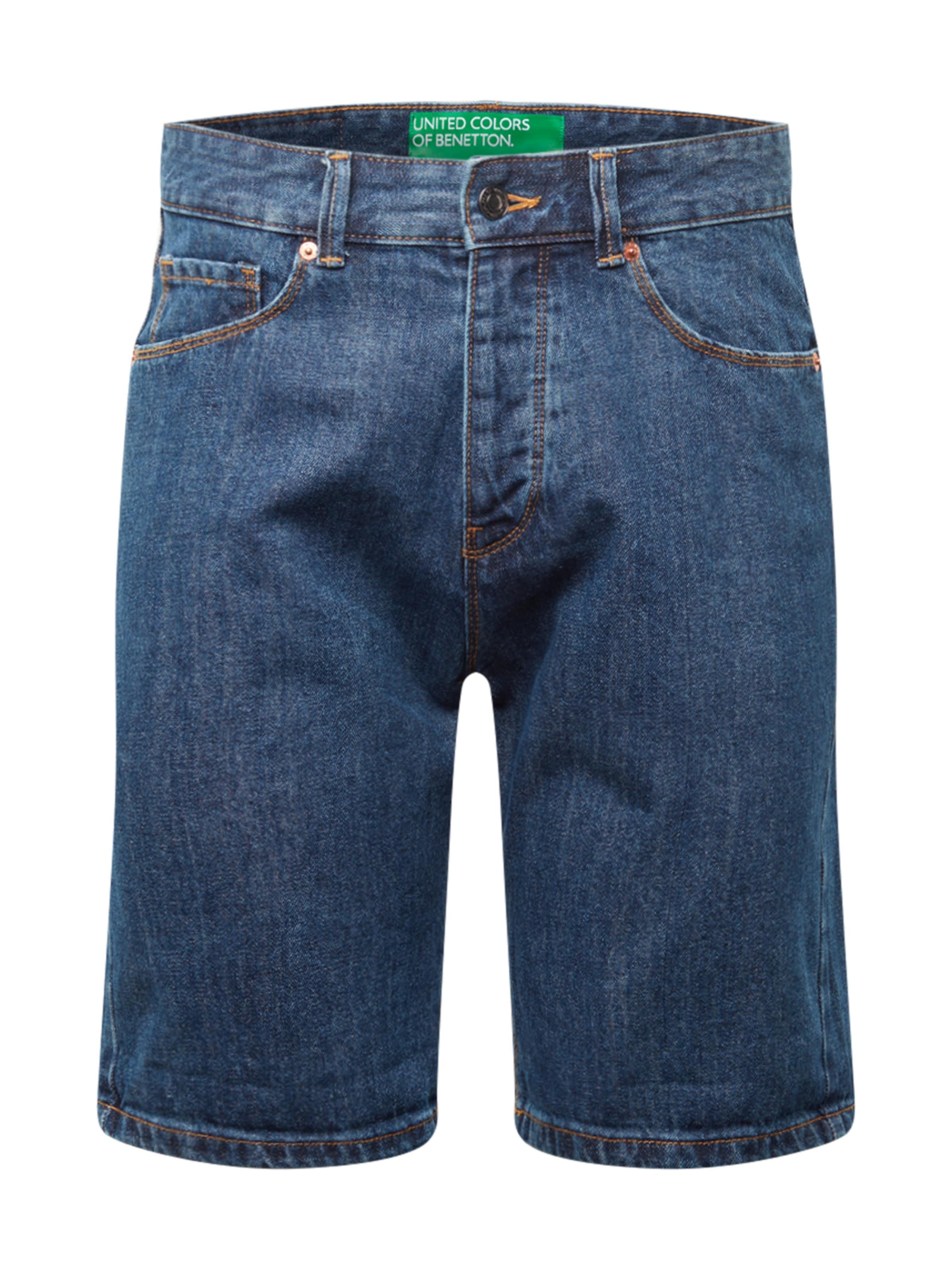 UNITED COLORS OF BENETTON Jeans i blå denim