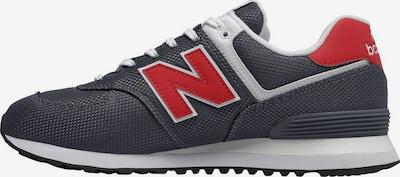 new balance Sneaker in grau / rot / weiß, Produktansicht