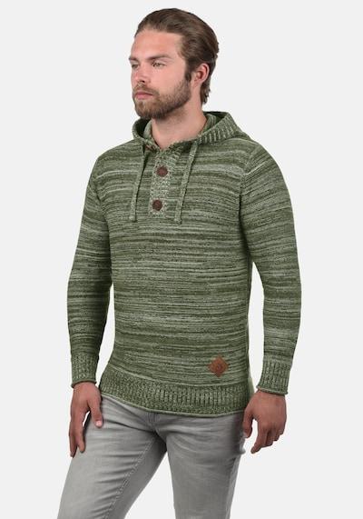 !Solid Kapuzenpullover 'MELKER' in grün: Frontalansicht