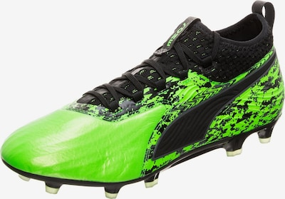 PUMA Chaussure de foot en vert clair / noir, Vue avec produit