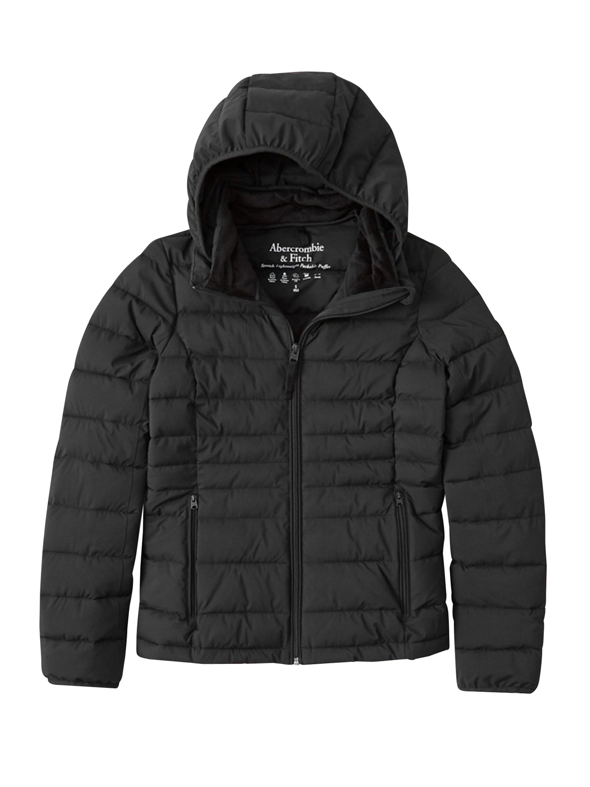 Abercrombie & Fitch Övergångsjacka i svart