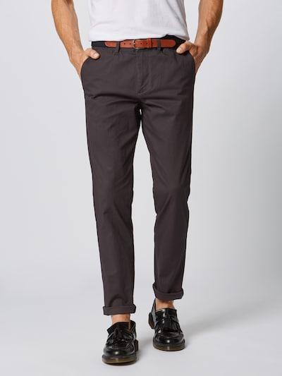 SELECTED HOMME Spodnie w kolorze antracytowym: Widok z przodu