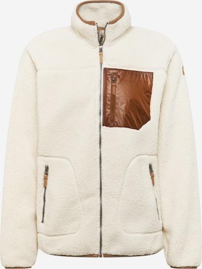 ICEPEAK Veste de sport en marron / blanc, Vue avec produit