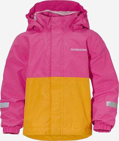 Didriksons Übergangsjacke 'Bri' in gelb / pink, Produktansicht