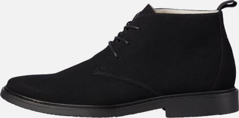 JACK & JONES Boots in schwarz, Produktansicht