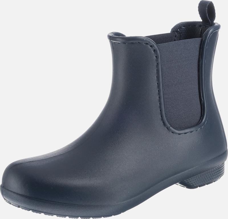Crocs Gummistiefel 'Freesail Chelsea Stiefel W SGy Dot Synthetik, Textil Verkaufen Sie saisonale Aktionen