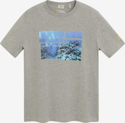 MANGO MAN Shirt 'Reef' in de kleur Grijs gemêleerd / Gemengde kleuren, Productweergave