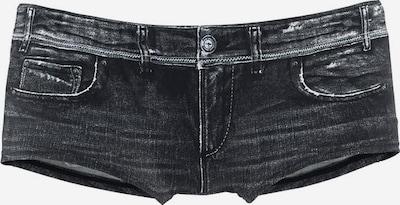 KangaROOS Badehotpants in anthrazit / schwarz, Produktansicht