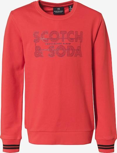 Scotch Shrunk Sweatshirt in navy / orangerot / schwarz, Produktansicht