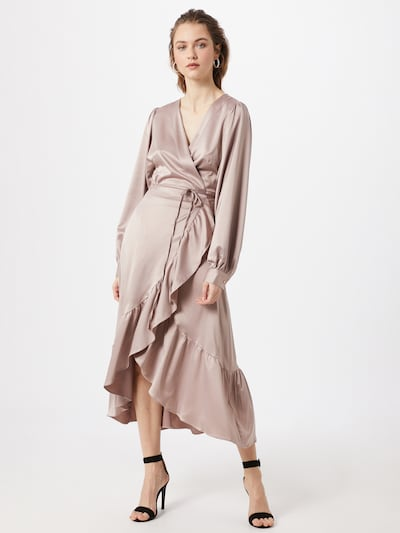 Love Copenhagen Společenské šaty 'Lila' - šedobéžová, Model/ka