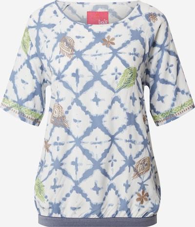 Bluză 'Batik-Raute' LIEBLINGSSTÜCK pe albastru, Vizualizare produs