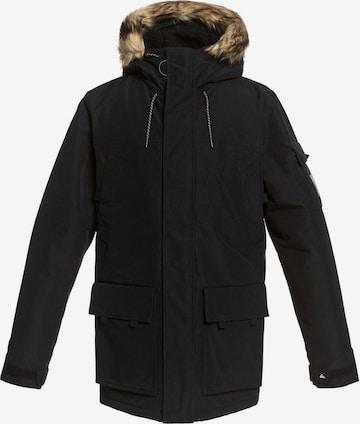 QUIKSILVER Outdoor jacket in Black