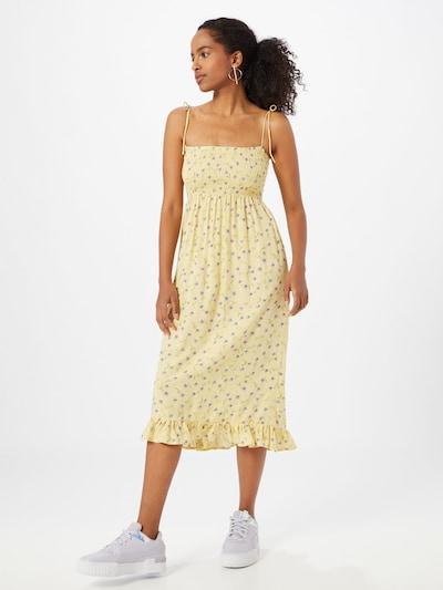 Motel Kleider 'Zenith' in gelb / mischfarben, Modelansicht