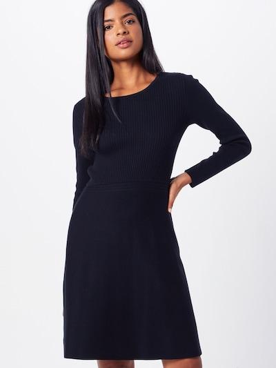 EDC BY ESPRIT Sukienka z dzianiny w kolorze czarnym, Podgląd na modelu(-ce)