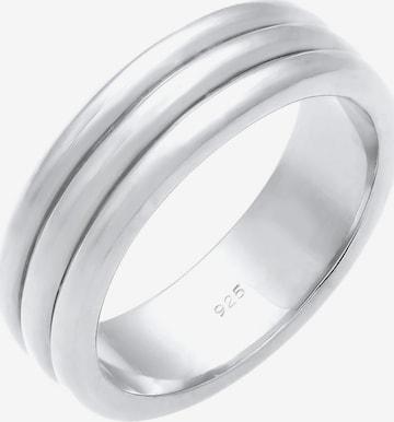 Inele 'Paarring' de la ELLI PREMIUM pe argintiu
