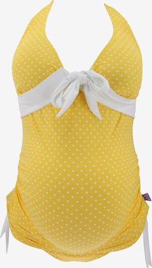 petit amour Tankini 'Annie' in gelb / weiß, Produktansicht