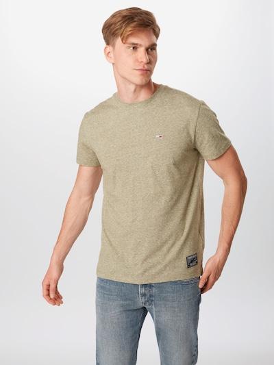 Tommy Jeans T-Shirt en olive: Vue de face
