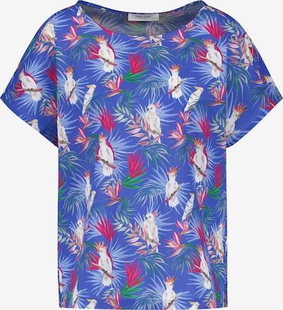 GERRY WEBER Bluse 1/2 Arm Blusenshirt mit Dschungelprint in mischfarben, Produktansicht