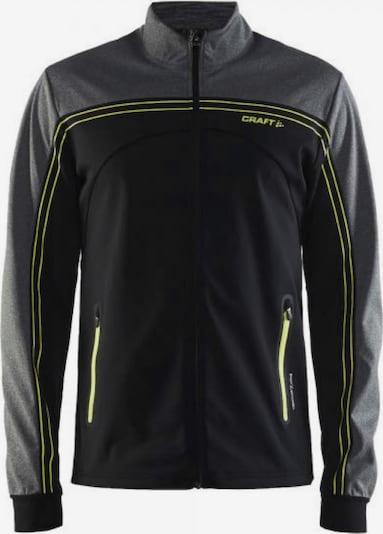 Craft Jacke 'Challenger' in graumeliert / schwarz, Produktansicht