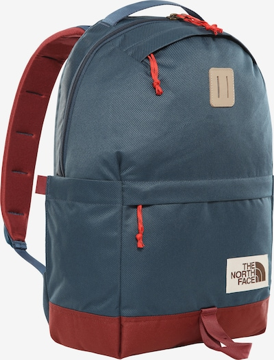 THE NORTH FACE Rucksack in taubenblau / karminrot, Produktansicht