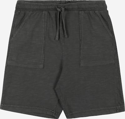 MANGO KIDS Pantalon en gris foncé: Vue de face