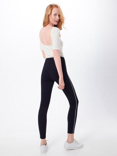 Leggings 'EVIE' ONLY pe negru: Privire spate