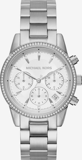 Michael Kors Armbanduhr mit Chronograph 'MK6428' in silber / weiß, Produktansicht