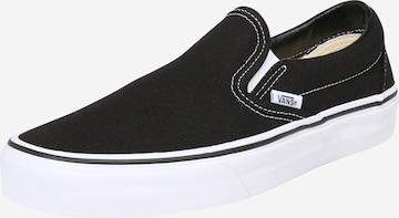 VANS Slip on -tennarit 'Classic Slip-On' värissä musta