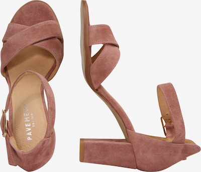 PAVEMENT Sandalette 'Silke' in rosa: Seitenansicht