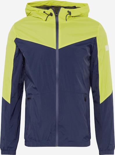 JACK & JONES Přechodná bunda 'COSPRING' - modrá / zelená, Produkt