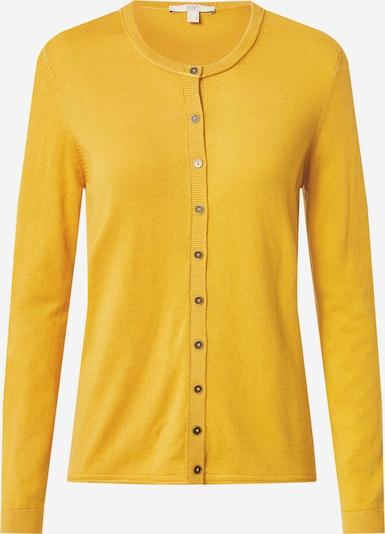 EDC BY ESPRIT Kardigan w kolorze złoty żółtym: Widok z przodu