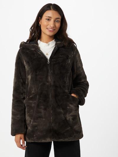 ONLY Manteau d'hiver 'Malou' en gris foncé, Vue avec modèle