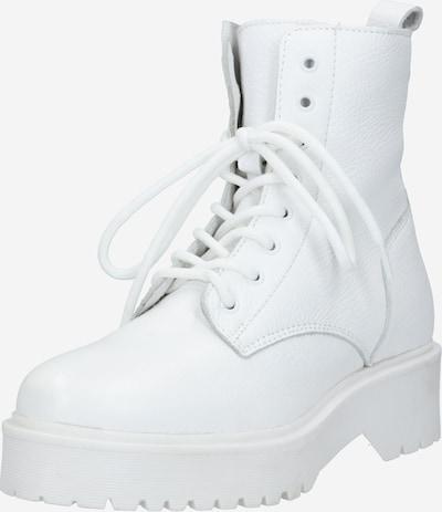 Suvarstomieji kulkšnis dengiantys batai 'Delia' iš ABOUT YOU , spalva - balta, Prekių apžvalga