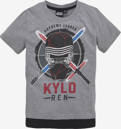 STAR WARS T-Shirt in graumeliert, Produktansicht