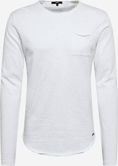 tigha Langarmshirt 'Chibs P.' in weiß, Produktansicht