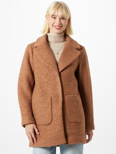 ICHI Mantel in braun, Modelansicht
