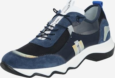 Donna Carolina Sneakers laag in de kleur Donkerblauw / Zwart / Wit, Productweergave