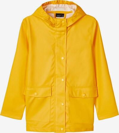 NAME IT Regenjacke in gelb, Produktansicht