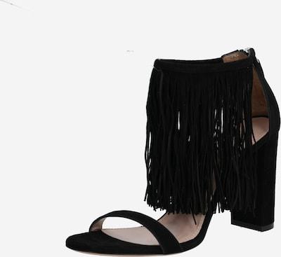 HUGO Sandales en noir, Vue avec produit