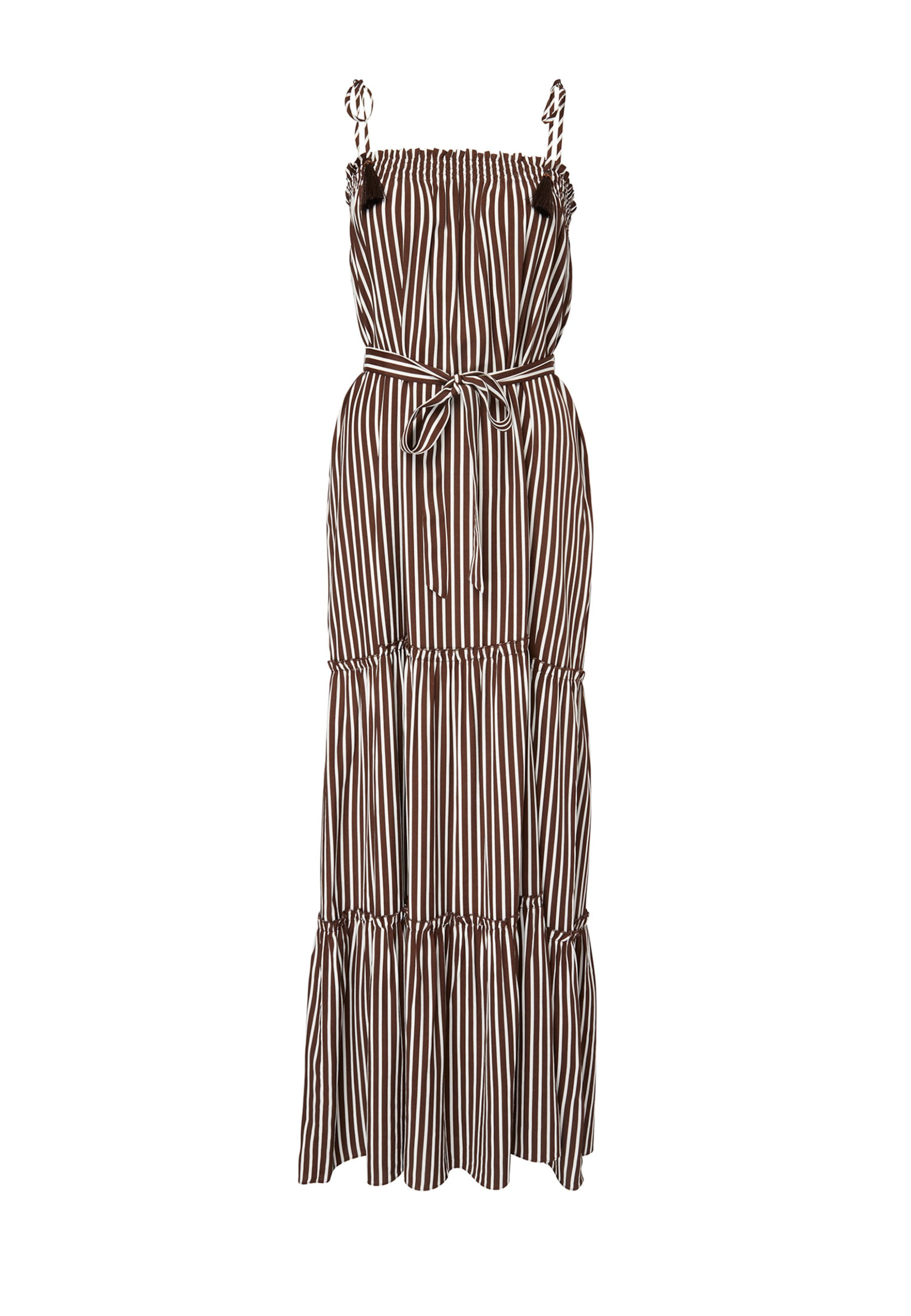 Hallhuber In Kleid Hallhuber Hallhuber Kleid In BraunWeiß BraunWeiß Hallhuber Kleid In BraunWeiß Rj3Lq54A