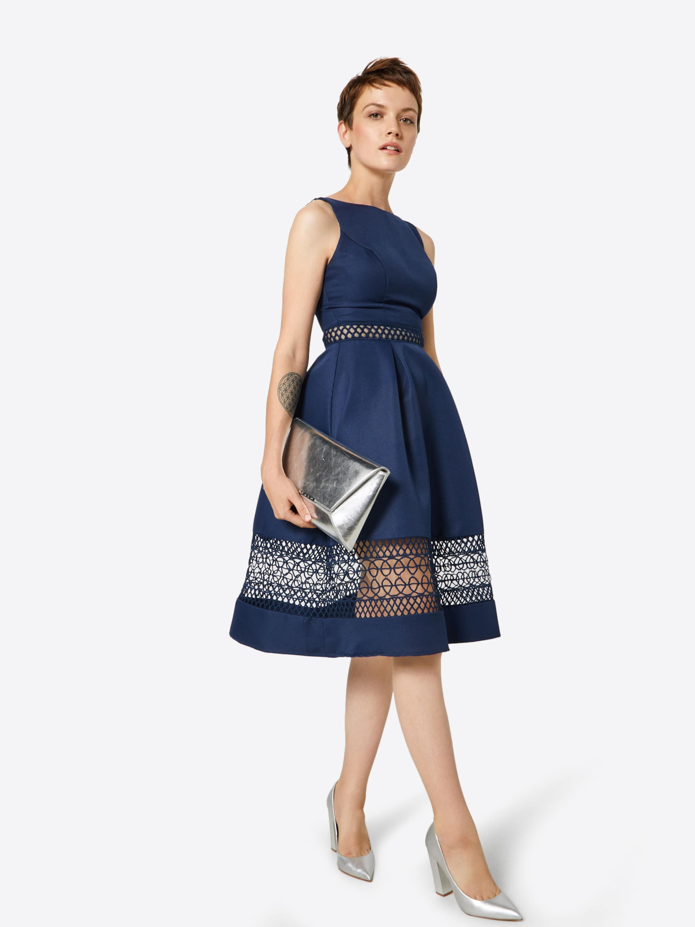 Chi London In In London Cocktailkleid Cocktailkleid Navy Chi ARSc4jLq53